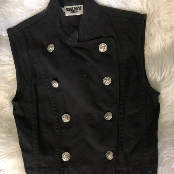 Dkny Jackets & Blazers - DKNY Denim Military Vest